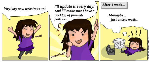 New Website Comic