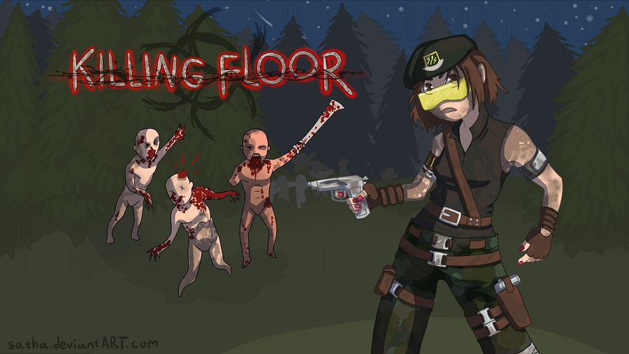 Ash Harding, Killing Floor